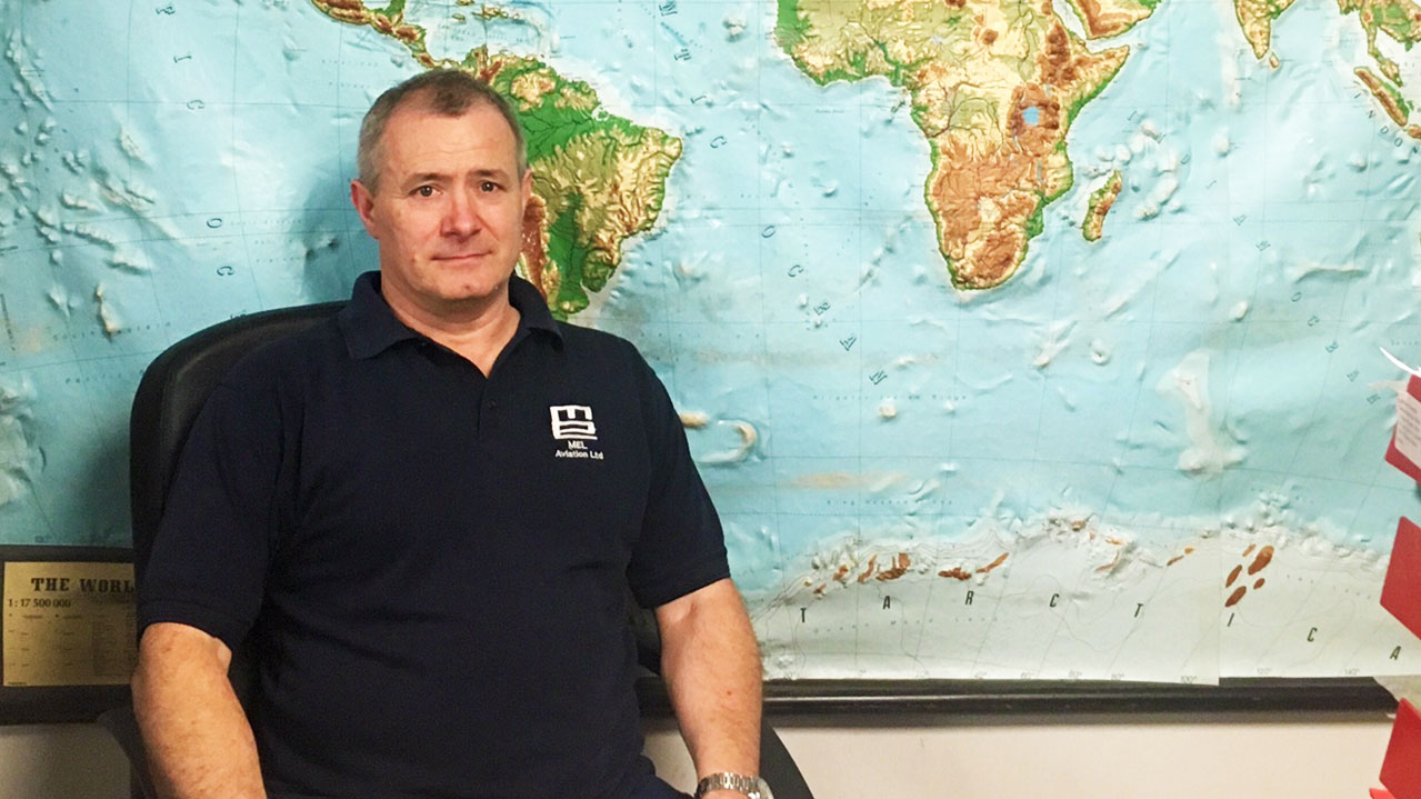 Mick Bromley, The MEL Group transport supervisor